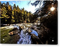 As Lawrence Welk Used To Say-ah Waterfall Waterfall Acrylic Print