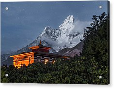 As Night Falls Acrylic Print by Karsten Wrobel
