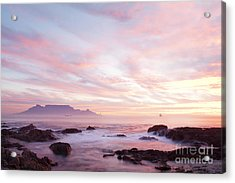 As The Day Ends Acrylic Print