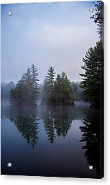 As The Fog Rolls In Acrylic Print