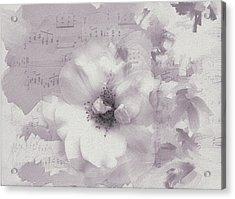 As The Music Fades Acrylic Print