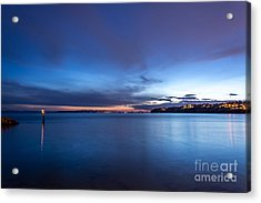 As The Night Sets In - By Sabine Edrissi Acrylic Print