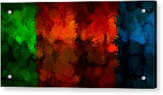 As The Seasons Turn Acrylic Print by Lourry Legarde