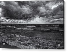 As The World Turns Mono Acrylic Print