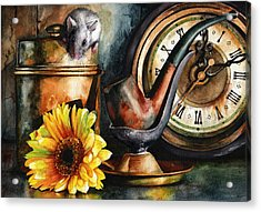 As Time Goes By Acrylic Print