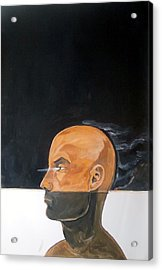 Acrylic Print featuring the painting As Vapor Gutural by Lazaro Hurtado