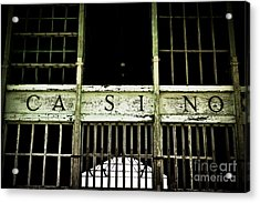 Asbury Park Casino Acrylic Print by Colleen Kammerer