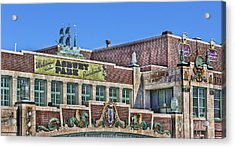 Acrylic Print featuring the photograph Asbury Park Convention Hall And Paramount Theatre  by Lee Dos Santos