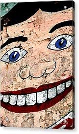 Asbury Tillie Acrylic Print by John Rizzuto