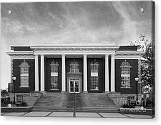 Asbury University Morrison Hall Acrylic Print by University Icons