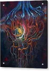 Ascension Of The Soul Part I Acrylic Print