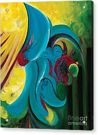 Acrylic Print featuring the painting Ascension by Tiffany Davis-Rustam