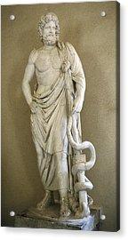 Asclepius. 4th C. Bc. Classical Greek Acrylic Print by Everett