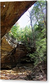 Ash Cave Of The Hocking Hills Acrylic Print