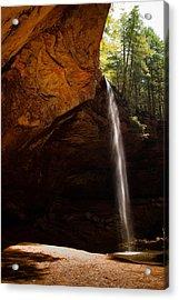 Acrylic Print featuring the photograph Ash Cave Rim by Haren Images- Kriss Haren