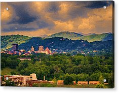 Asheville North Carolina Acrylic Print