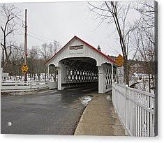 Ashuelot Bridge Acrylic Print