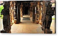 Asia, India, Tamil Nadu, Padmanabhapuram Acrylic Print by Steve Roxbury