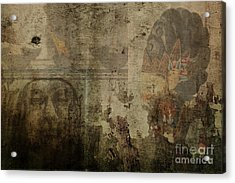 Asian Background Acrylic Print by Patricia Hofmeester