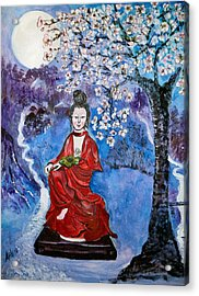Asian Beauty Acrylic Print