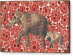 Asian Elephant-jp2185 Acrylic Print