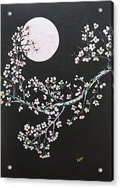 Asian Moon Acrylic Print