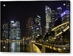 Asian Neons Acrylic Print by Pete Reynolds
