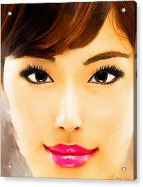 Asian Woman Acrylic Print
