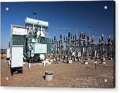 Asia's Largest Solar Power Station Acrylic Print by Ashley Cooper