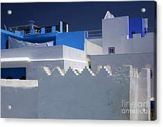 Asilah Meaning Authentic In Arabic Fortified Town On Northwest Tip Of Atlantic Coast Of Morocco Acrylic Print by PIXELS  XPOSED Ralph A Ledergerber Photography