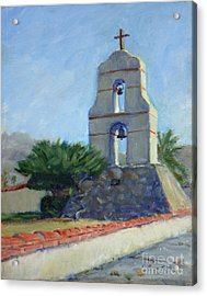 Asistencia Bell Tower Acrylic Print