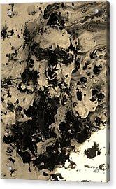 Asleep Acrylic Print by David King
