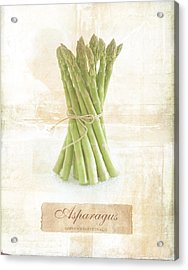 Asparagus Acrylic Print by Mark Preston