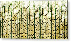 Aspen Colorado Abstract Panorama 3 Acrylic Print