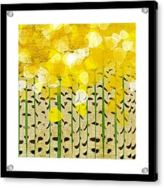 Aspen Colorado Abstract Square Acrylic Print