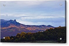 Acrylic Print featuring the photograph Aspen Glow Two by Eric Rundle