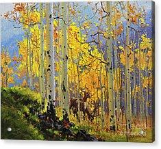 Aspen Kingdom Acrylic Print by Gary Kim