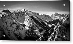 Aspen Winter Acrylic Print