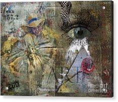 Asperger's Acrylic Print