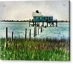 Assateague Abandon Acrylic Print