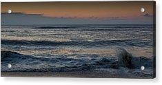 Assateague Waves Acrylic Print