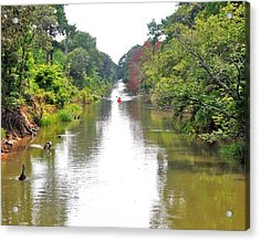 Assawoman Canal - Delaware Acrylic Print