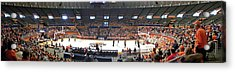 Assembly Hall University Of Illinois Acrylic Print by Thomas Woolworth