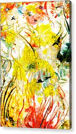 Acrylic Print featuring the painting Assiduous by Ron Richard Baviello