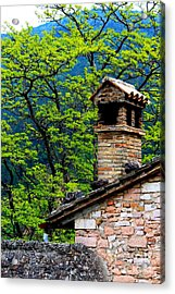 Acrylic Print featuring the photograph Assisi 2 by Theresa Ramos-DuVon