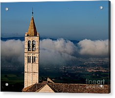 Acrylic Print featuring the photograph Assisi - 4 by Theresa Ramos-DuVon