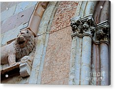 Acrylic Print featuring the photograph Assisi -6 by Theresa Ramos-DuVon