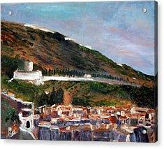 Assisi Hillside Acrylic Print