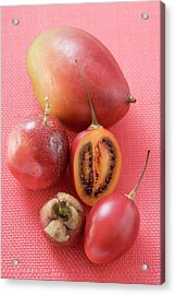 Assorted Exotic Fruits (overhead View) Acrylic Print
