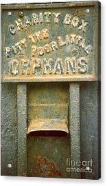 Assylum Money Box Historic Garden District In New Orleans Louisiana Acrylic Print